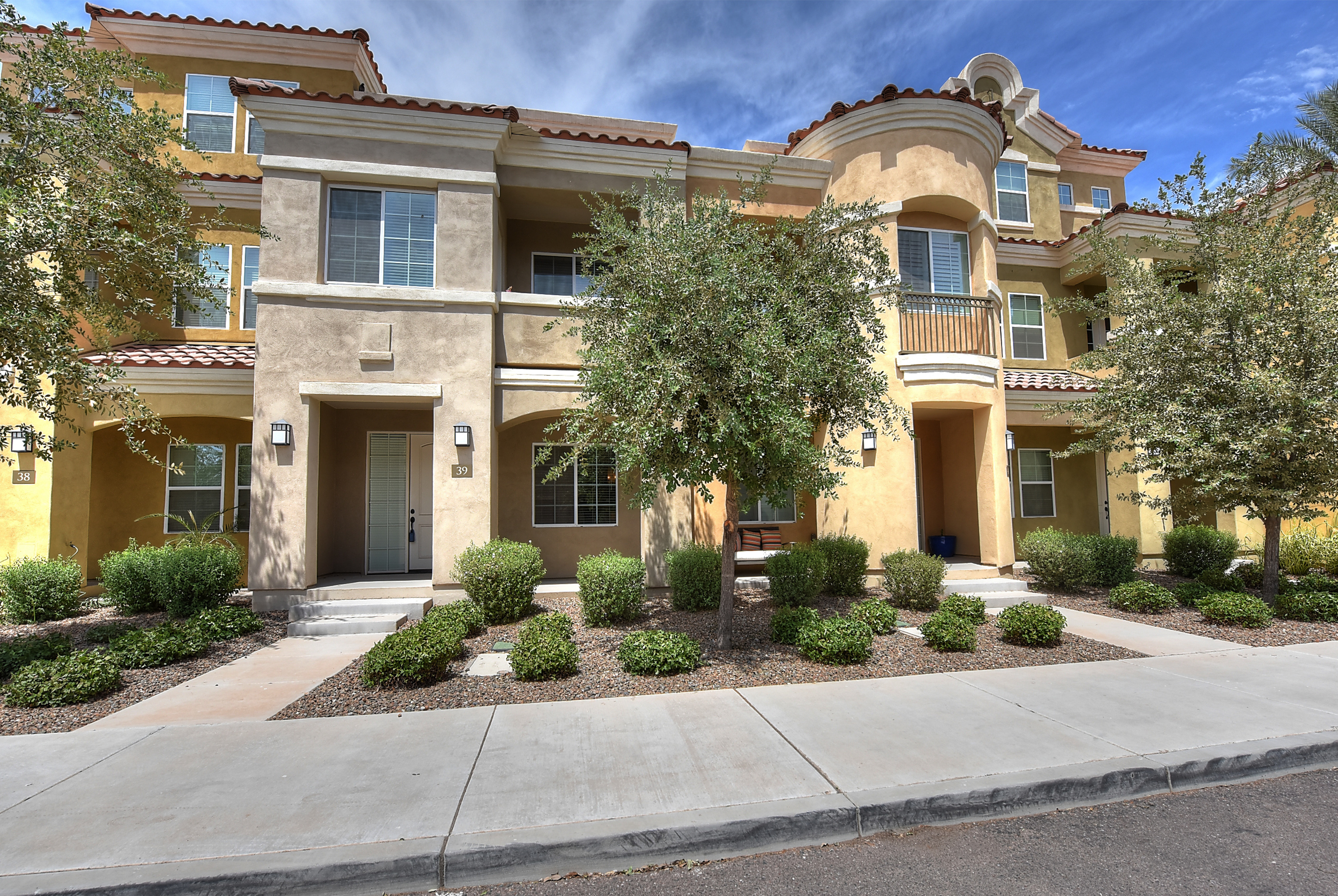 New homes for sale north scottsdale dc ranch real estate - The living room dc ranch scottsdale ...